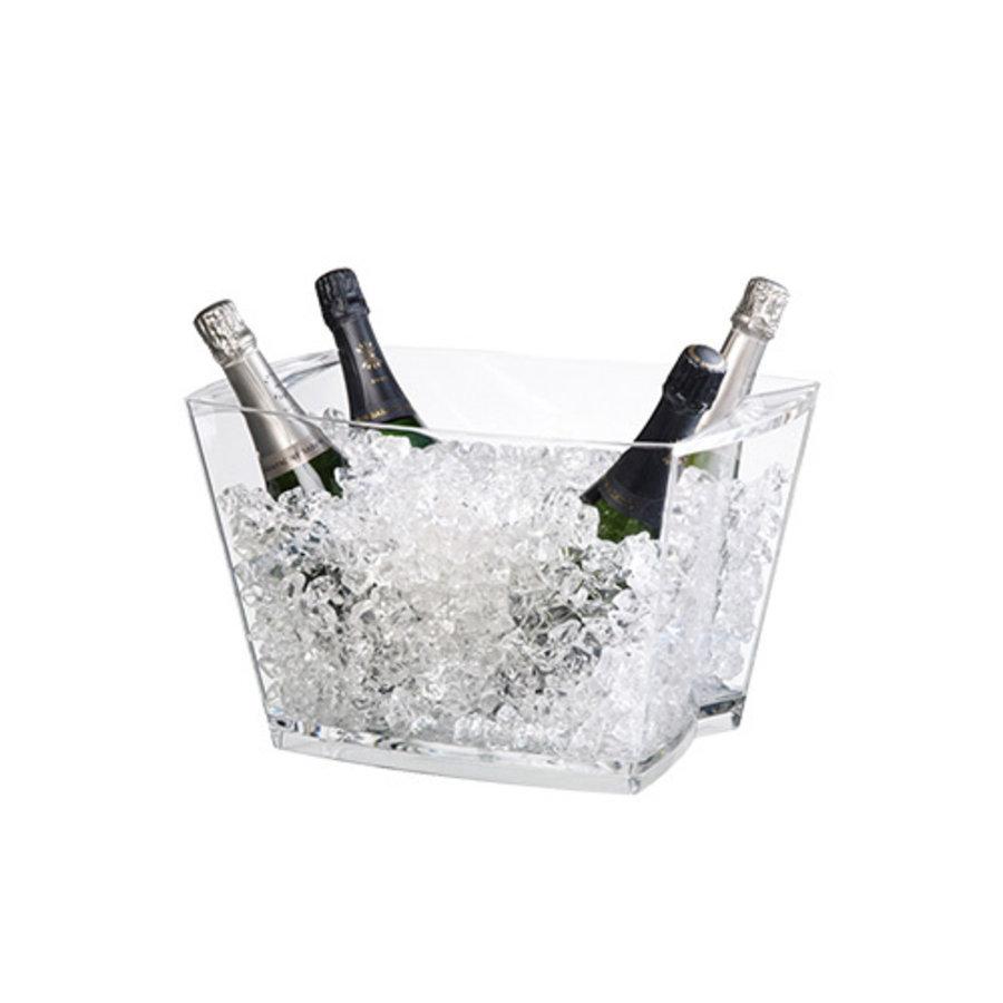 Wijnkoeler Alaska | 42x26x29(h)cm | Acryl
