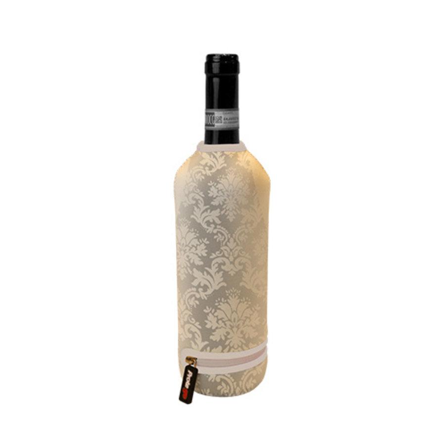 Weinflasche Thermoabdeckung Beige