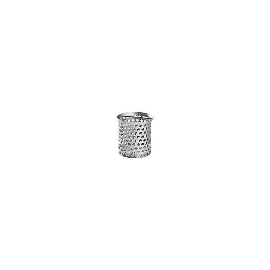 Abnehmbarer Edelstahlkorb für Bodenablauf | Ø80 mm