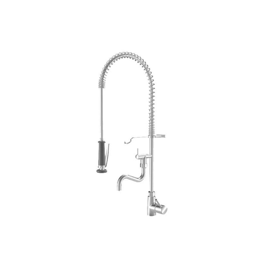 Pre-rinse shower with Intermediate tap | Single hole | Tabletop model