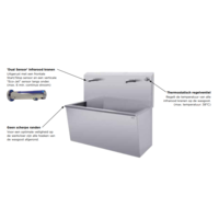 Stainless Steel Wash Trough with Infrared Faucet (3 sizes)