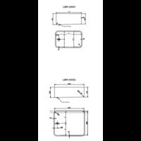 Stainless steel Bain-marie Bak | Welding (4 formats)
