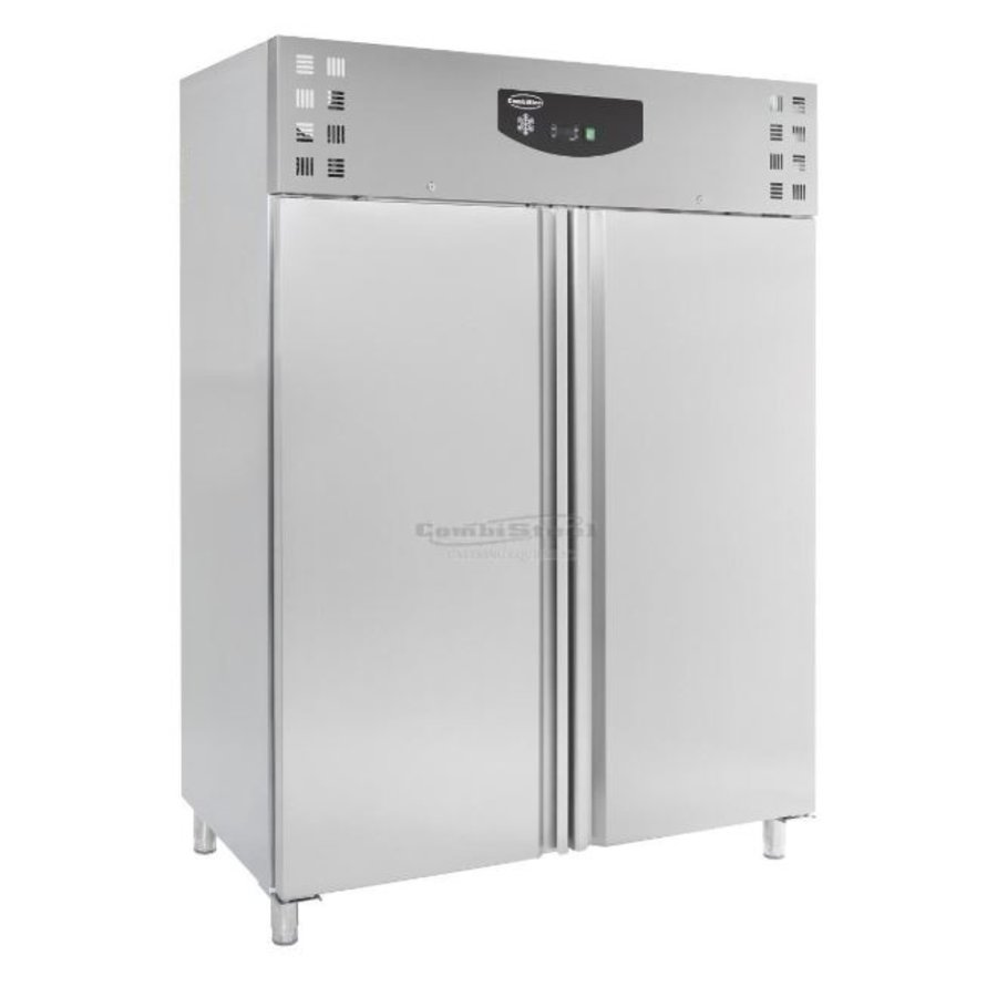 Horeca Fridge / Freezer 2 doors stainless steel