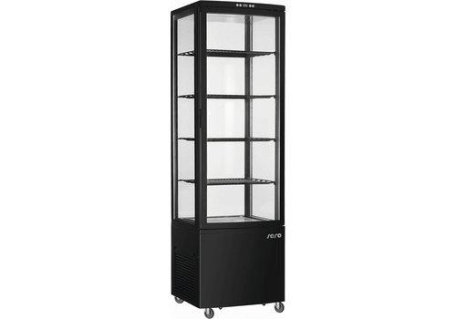 Saro Kühlvitrine | 235 Liter | Mit Innenbeleuchtung