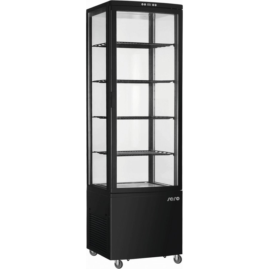 Refrigerated display case   235 liters   With interior lighting