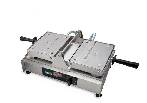 Neumärker SWiNG waffle iron | Stainless steel | With drainer