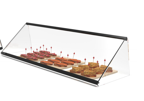 Neutral display case | Available in 3 different sizes Reinforced glass