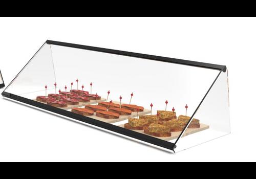 Neutrale Vitrine | Erhältlich in 3 verschiedenen Größen Verstärktes Glas