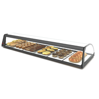 Neutral display case | Available in 4 sizes | Tempered glass | LED-lighting
