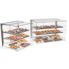 Sayl Neutral display case rectangular | Available in 4 sizes | Tempered glass | LED-lighting