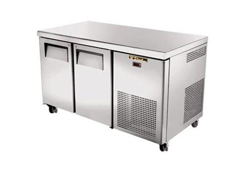 True Double door freezer workbench | 297L
