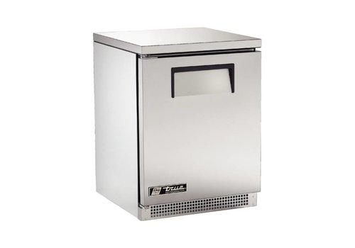 True Apotheke Kühlschrank 140 Liter - Edelstahl - 2 Gitter - 5 Jahre Garantie