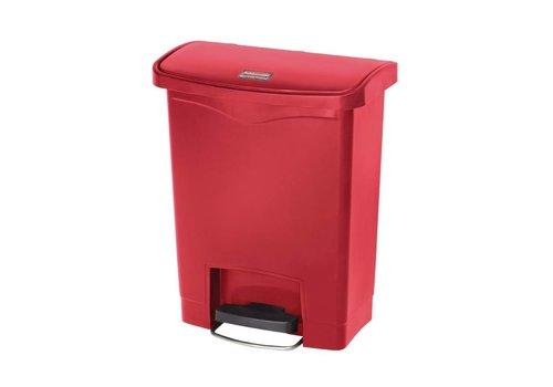 Rubbermaid Kunststoff-Papierkorb 30 Liter   3 Farben