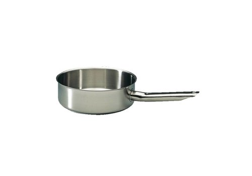 Bourgeat Professional stainless steel sauté pan | Ø28 cm