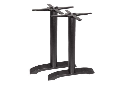 Bolero Double iron table legs - 72 cm high- PRO SERIES