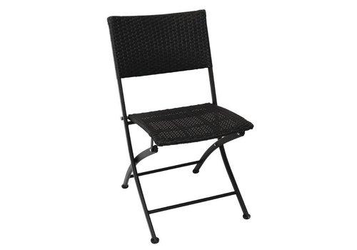 Bolero Rattan patio chair Collapsible | 2 pieces