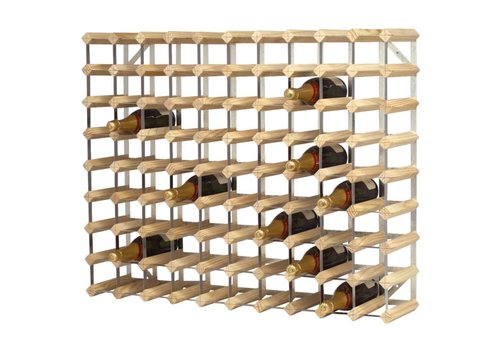 HorecaTraders Luxury Wine Rack 90 bottles