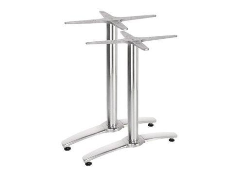 Bolero Dubbele aluminium tafelpoot 68 cm hoog