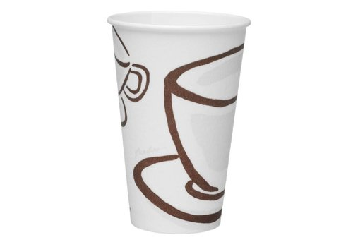 HorecaTraders Paper cup (480 pieces)