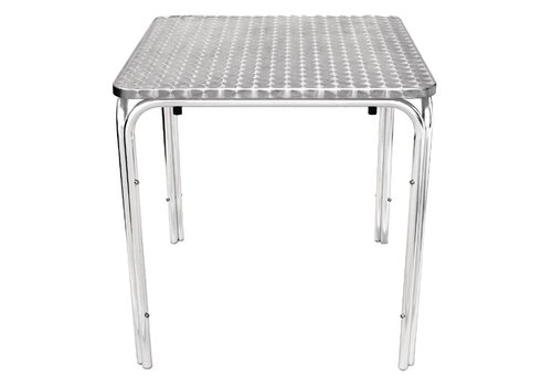 Bolero Stackable catering tables square 70x70cm