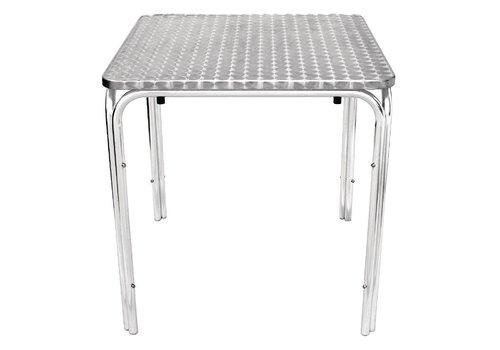 Bolero Stapelbare Tische Catering 70x70cm Platz