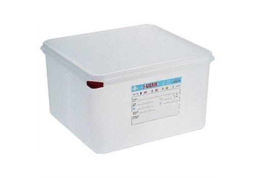 Araven Nahrungsmittelkasten 2/3 GN 19 Liter | (4 Stück)