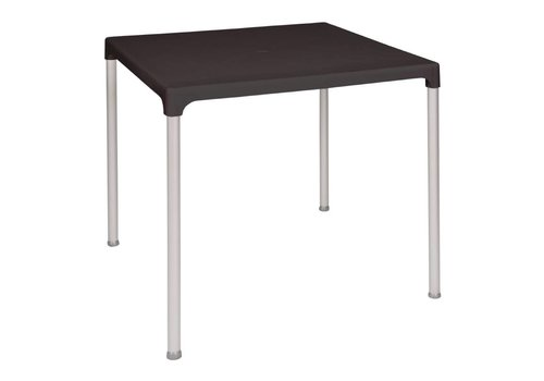 Bolero Square Table Black | 75x75 cm