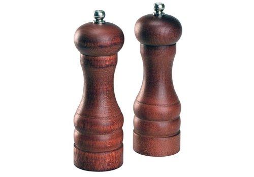 HorecaTraders Cole & Mason Salt Mill Forest | 16.5 cm (4 pieces)