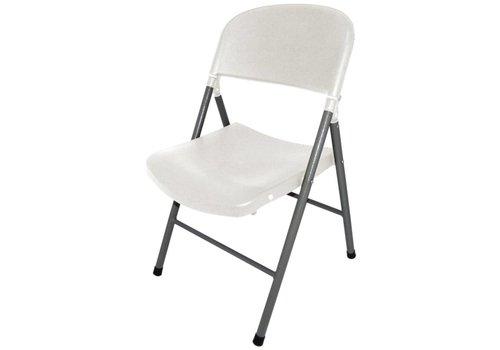 Bolero Folding chairs Plastic White | 2 pieces