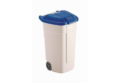 Rubbermaid Überrollkäfig Blau-Abdeckung | 100 Liter