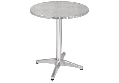 Bolero Round stainless steel table round Ø 60 cm