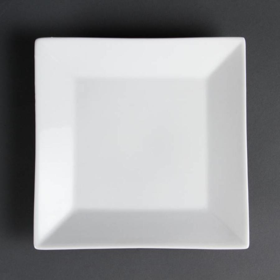 Bord Breed Vierkant 25 cm (Box 6)