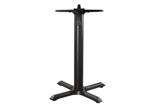 HorecaTraders Cast iron table leg - 72 cm high