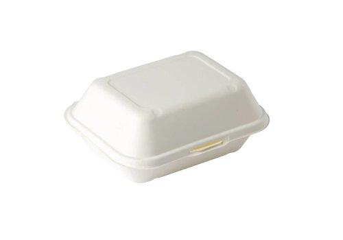 HorecaTraders Recycelbar Fast-Food-Karton (250 Stück)