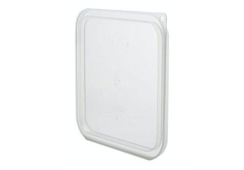 Cambro Lebensmittelbehälter Polycarbonatdeckel | 6 Stück | 3 Formate