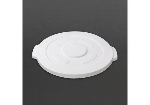 Vogue Vogue lid for white round storage container 38L