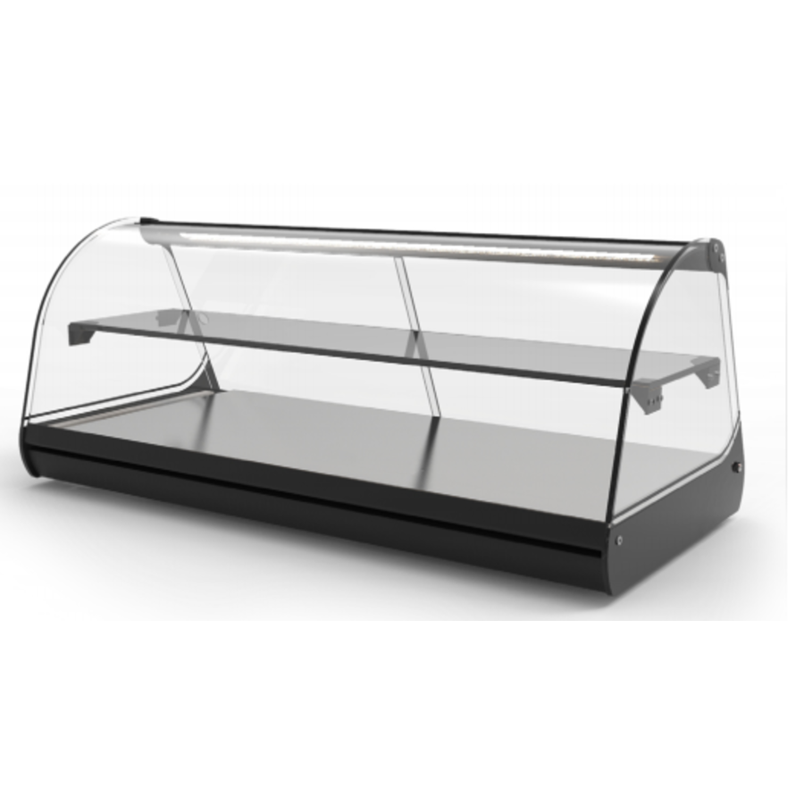 Neutral display case | Available in 4 sizes | LED-lighting