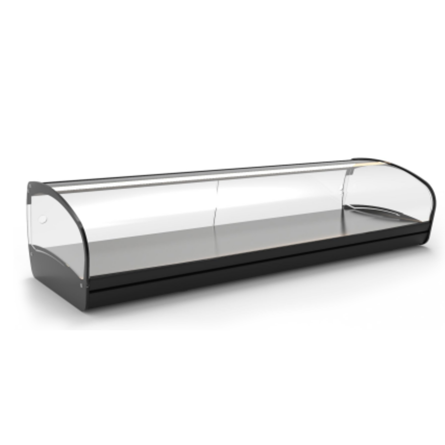Neutrale Vitrine | Erhältlich in 4 Größen | LED-Beleuchtung