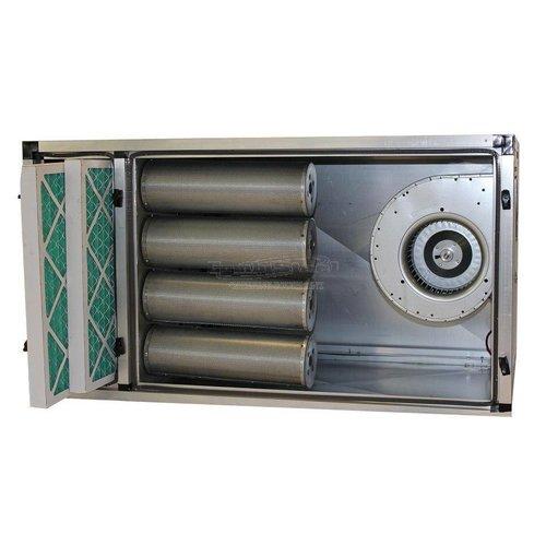 Odor filter cabinets