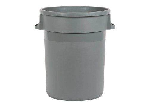 Jantex Abfallbehälter Kunststoff Grau | 2 Formate