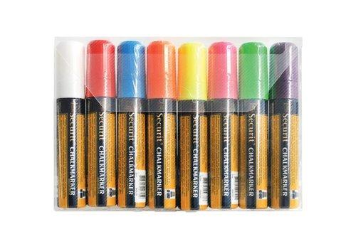 Securit Tipp eingestellt löschbare | 8 Farben