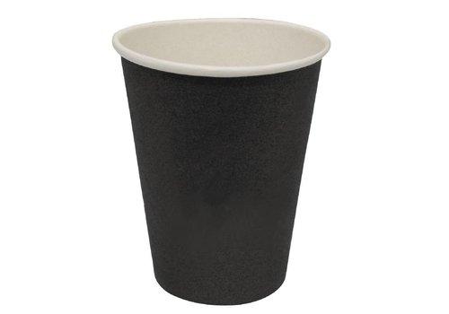 HorecaTraders Coffee Black (1000 Stück) | 3 Formate