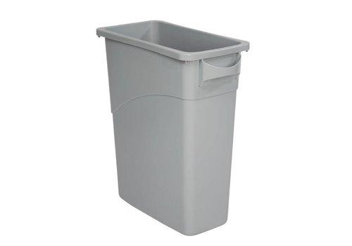 Rubbermaid Abfallbehälter Grau | 60 Liter