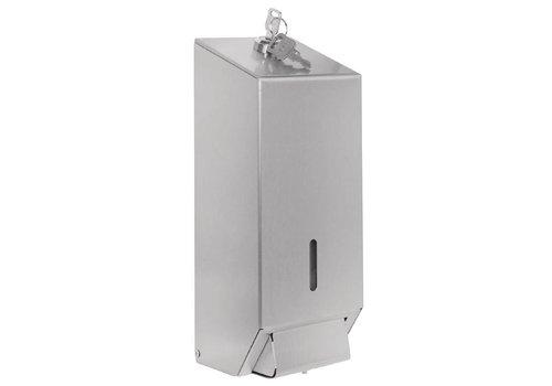 Jantex RVS Zeepdispenser Professioneel | 1 Liter