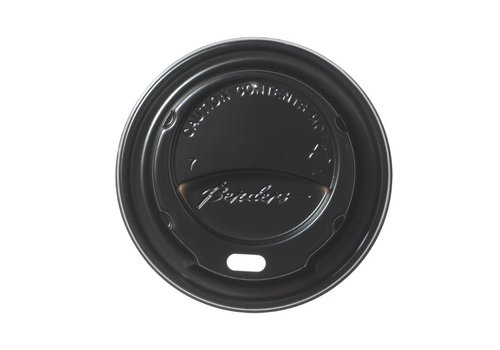 HorecaTraders 23 cl. cup lid black (1000)