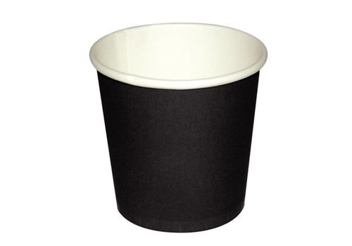 HorecaTraders Dark brown espresso cup | 1000 pieces