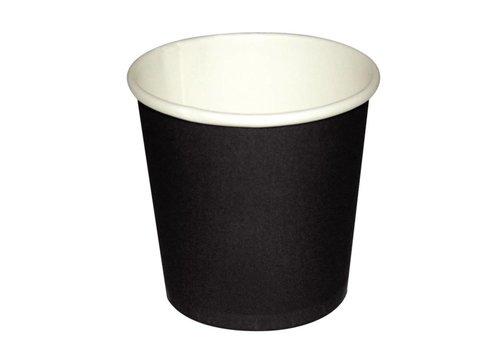 HorecaTraders Dunkelbraun Espressotasse | 1000 Stück