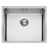HorecaTraders Sink stainless steel | 54 x 44 20 cm |