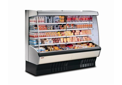 HorecaTraders Wall cooling - Automatic defrost - Incl. evaporation evaporation - 1260 x 885 x h 1940 mm