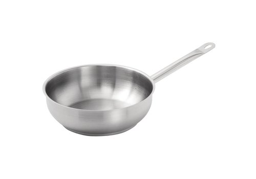 Vogue Stainless steel Sauteuse Conical | Ø24 cm